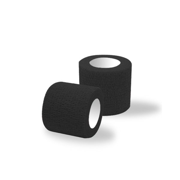 Ljepljivi zavoj crni 5 cm
