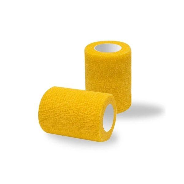 Ljepljivi zavoj žuti 7,5 cm bontech